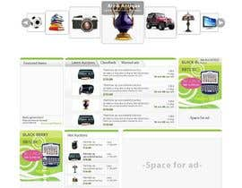 #16 pentru Website Design for auction/classifieds de către farhanpm786