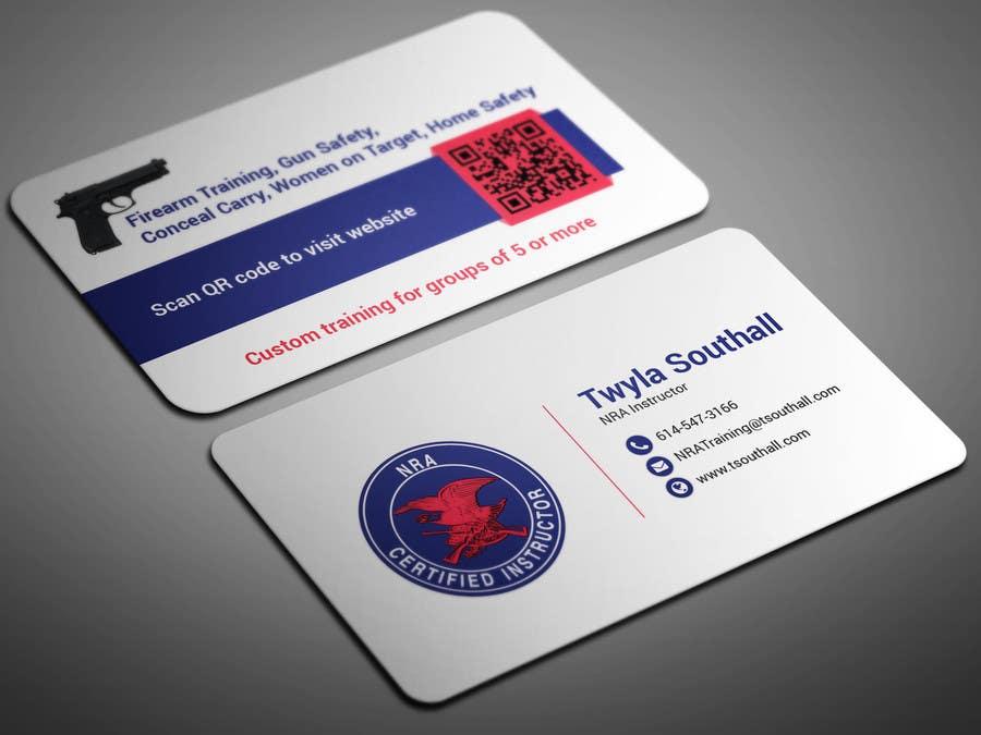 Charming Gun Business Cards Gallery - Business Card Ideas - etadam ...