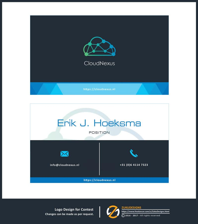 Entry #9 by ZukuDesigns for Design corporate identity (business card ...