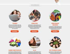 #17 for Wordpress Theme Design for Teaching English by tania06