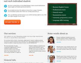 #26 para Wordpress Theme Design for Teaching English por blocbox