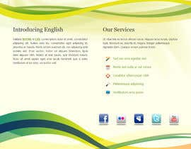 #93 untuk Wordpress Theme Design for Teaching English oleh blocbox