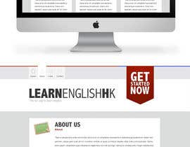 #73 para Wordpress Theme Design for Teaching English por rubiopinto