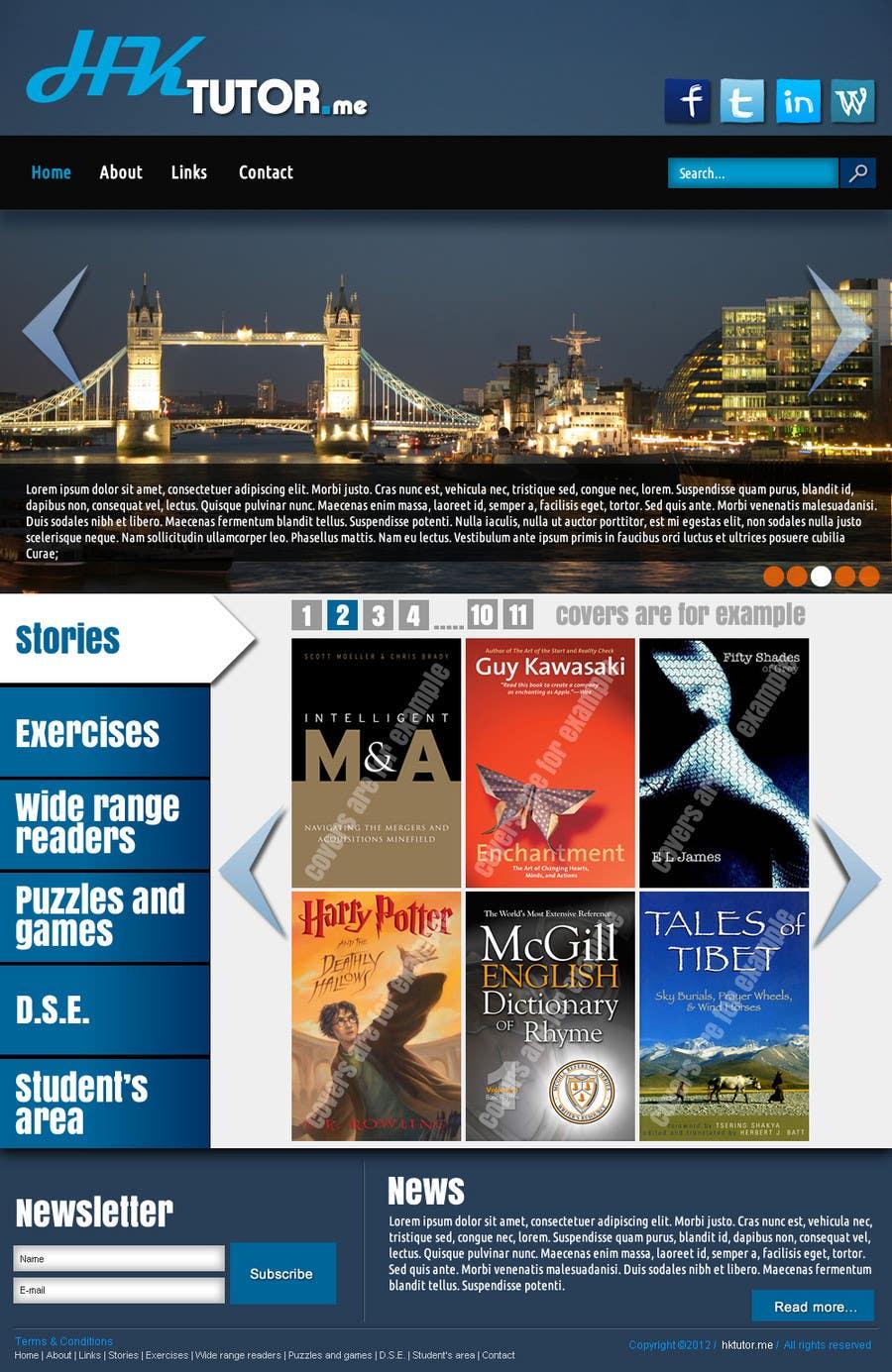 Конкурсная заявка №90 для Wordpress Theme Design for Teaching English