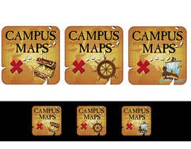#29 para Graphic Design for Campus Maps (iTunes Art) por marijoing