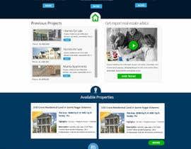 MagicalDesigner tarafından Design a Website Mockup for Residential Builder / Real Estate Developer için no 12