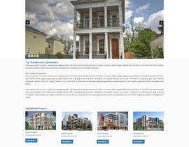 manish973 tarafından Design a Website Mockup for Residential Builder / Real Estate Developer için no 4