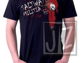 nº 24 pour T-shirt Design for SALTWATER MILITIA par lowendmadness
