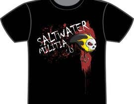 nº 6 pour T-shirt Design for SALTWATER MILITIA par lowendmadness