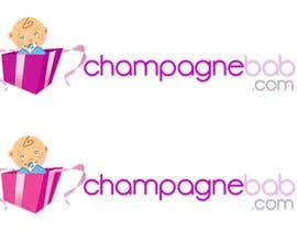 #119 for Logo Design for www.ChampagneBaby.com af Grupof5