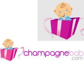 #120 , Logo Design for www.ChampagneBaby.com 来自 Grupof5