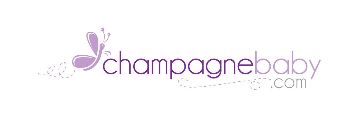 Contest Entry #17 for Logo Design for www.ChampagneBaby.com