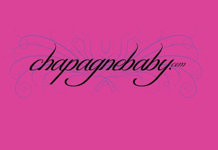 Конкурсная заявка №35 для Logo Design for www.ChampagneBaby.com