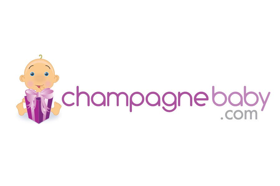 Contest Entry #123 for Logo Design for www.ChampagneBaby.com