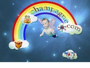 Graphic Design Contest Entry #113 for Logo Design for www.ChampagneBaby.com