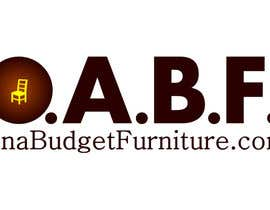 #34 untuk Design a Logo for OnaBudgetFurniture.Com oleh cbarberiu