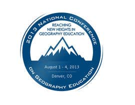 nº 35 pour Graphic Design for 2013 National Conference on Geographic Education par lihia