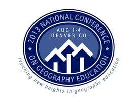 nº 29 pour Graphic Design for 2013 National Conference on Geographic Education par brimstonedesign