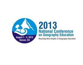 nº 40 pour Graphic Design for 2013 National Conference on Geographic Education par sharpminds40