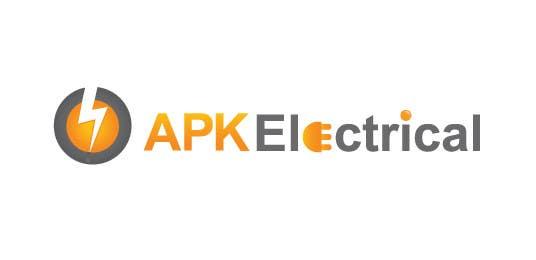 Konkurrenceindlæg #203 for Logo Design for APK Electrical