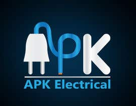 #181 для Logo Design for APK Electrical от Zibonnn