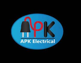 #178 for Logo Design for APK Electrical by Zibonnn