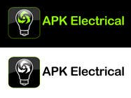 Graphic Design Konkurrenceindlæg #155 for Logo Design for APK Electrical