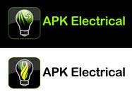 Graphic Design Konkurrenceindlæg #152 for Logo Design for APK Electrical