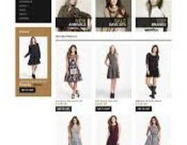 #24 for Design a Website Mockup for ecommerce site dresses and shoes by kanwarwebdev