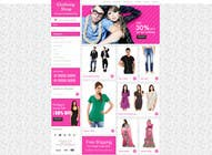Contest Entry #22 for Design a Website Mockup for ecommerce site dresses and shoes