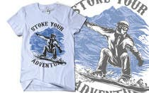Graphic Design Inscrição do Concurso Nº7 para Alpine Sport T Shirt Design (1 to 3 colors)