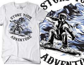 #9 para Alpine Sport T Shirt Design (1 to 3 colors) por valentinmihai07