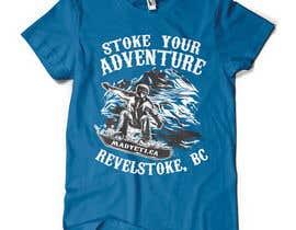 #28 para Alpine Sport T Shirt Design (1 to 3 colors) por valentinmihai07