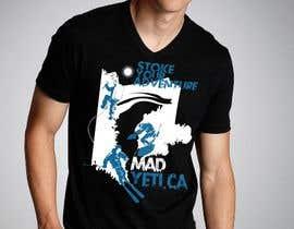 #20 para Alpine Sport T Shirt Design (1 to 3 colors) por vishnuremesh