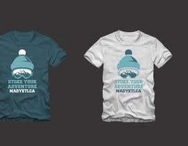 #26 para Alpine Sport T Shirt Design (1 to 3 colors) por FredrikWei
