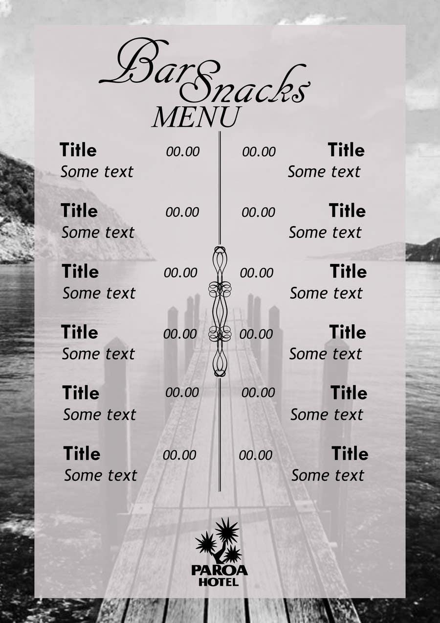entry 2 by angelov364 for design an editable menu freelancer