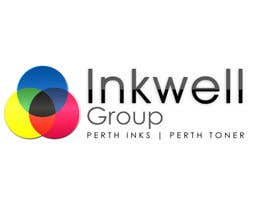 lakekover tarafından Logo Design for Inkwell Group - Perth Inks - Perth Toner için no 386