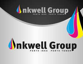 dimitarstoykov tarafından Logo Design for Inkwell Group - Perth Inks - Perth Toner için no 393