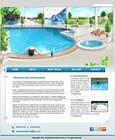 Bài tham dự #29 về Graphic Design cho cuộc thi Design a Website Mockup/Including Logo for Pool Renovation company