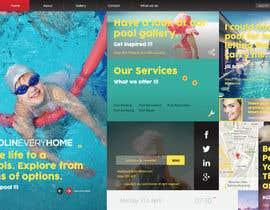 #28 cho Design a Website Mockup/Including Logo for Pool Renovation company bởi tallsquare