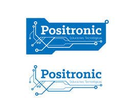 #58 for Diseñar un logotipo for Positronic by shumy90