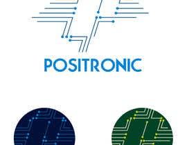 #204 para Diseñar un logotipo for Positronic de Mansini