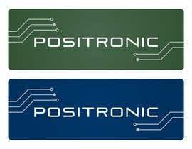 #198 para Diseñar un logotipo for Positronic de consultorgrafico