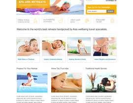 #37 para Design a Wordpress Template for Travel Website por clickinn