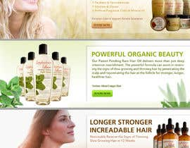 #17 para Banner Ad Design for 3 Organic Hair Care Website por shanmuharajan