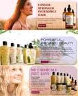 Banner Ad Design for 3 Organic Hair Care Website için Graphic Design18 No.lu Yarışma Girdisi