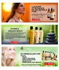 Graphic Design Contest Entry #16 for Banner Ad Design for 3 Organic Hair Care Website