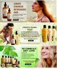 Banner Ad Design for 3 Organic Hair Care Website için Graphic Design25 No.lu Yarışma Girdisi