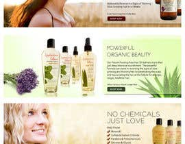 #3 para Banner Ad Design for 3 Organic Hair Care Website por su1d