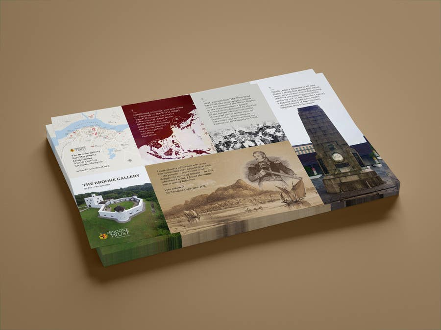 entry 19 by odinus for design a museum fold out brochure freelancer